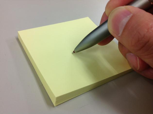 書けない(インクが無色化した)フリクション
