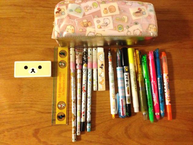 小6娘の筆箱!