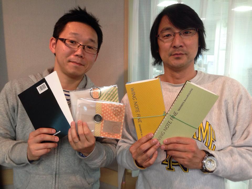 小島嵩弘さんと文具