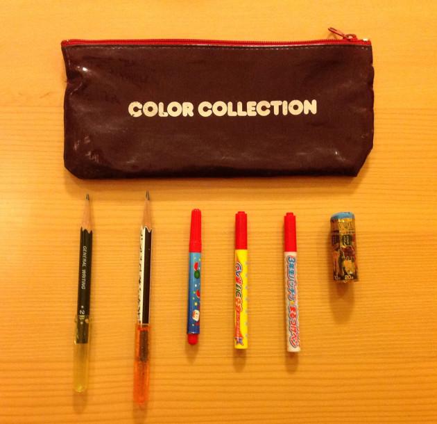 小学4年生の筆箱