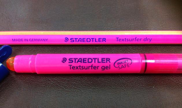 ステッドラーのテキストサーファーシリーズ