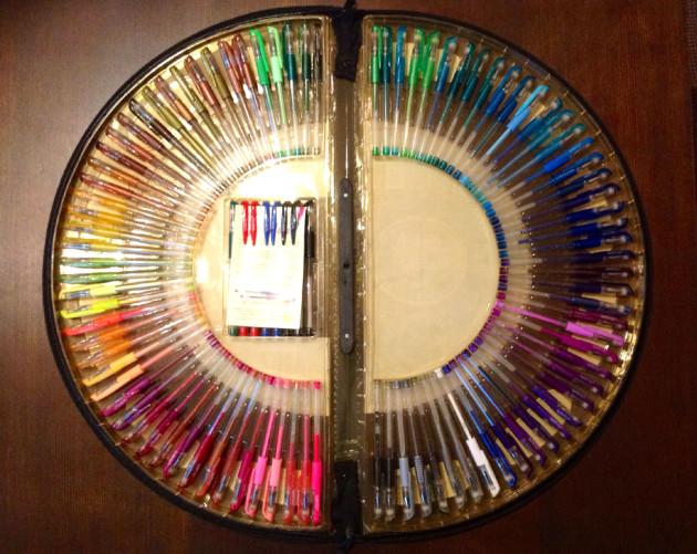 100色ペン