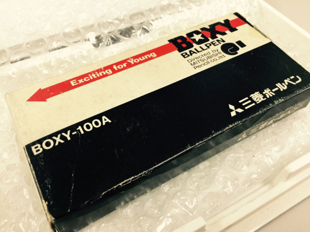 発売当時のBOXY箱