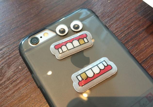 田中さんのiPhoneケースに動眼