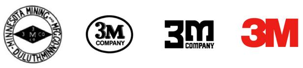 3Mロゴの変遷
