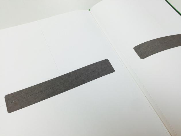 ミシン目メモページ