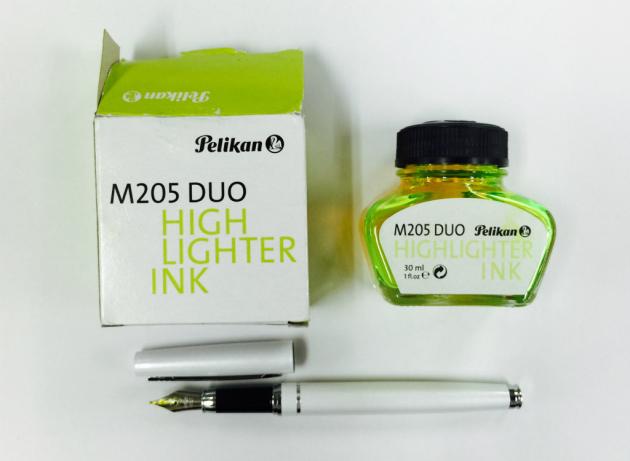 ペリカンの蛍光インク