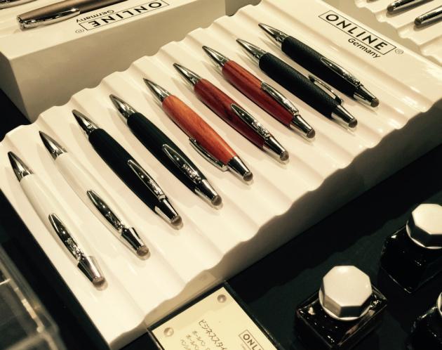 ONLINE樽型のペンたち