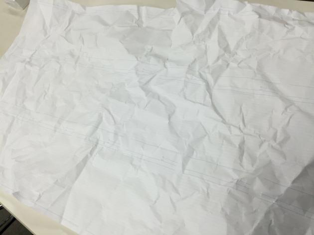 マルマンの裁断前のノート