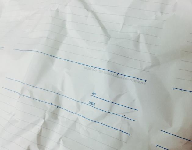 マルマンの緩衝材ノート