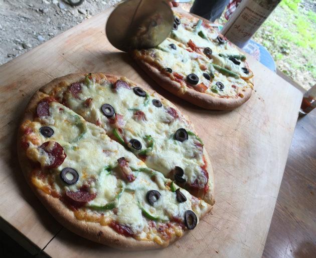エミケンのエミさんのピザ