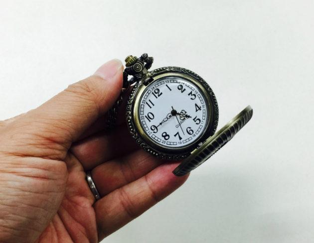 フリーメイソンの懐中時計
