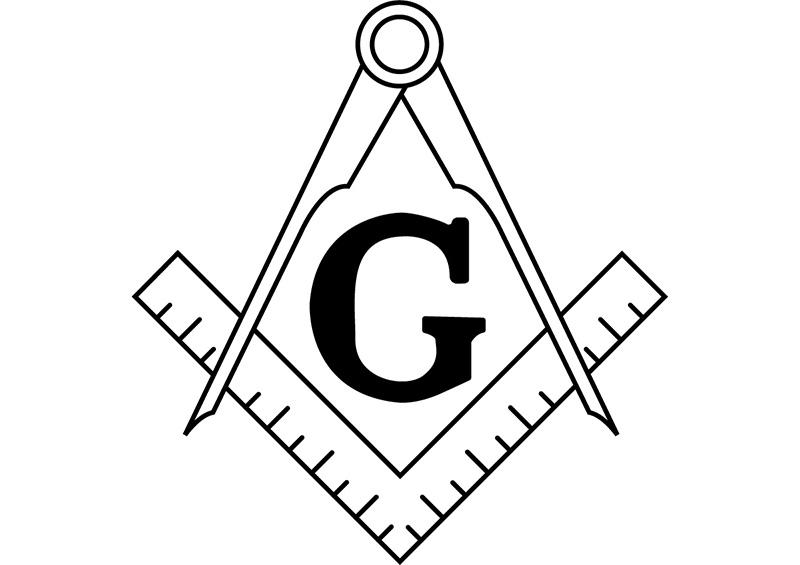 【コンパスと直角定規】あの世界的秘密結社のシンボルマークがめっちゃ文具な件。