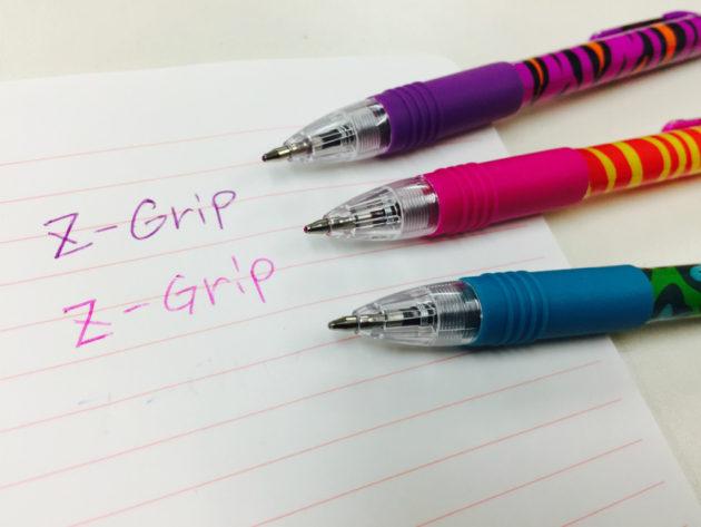 油性のカラーボールペン