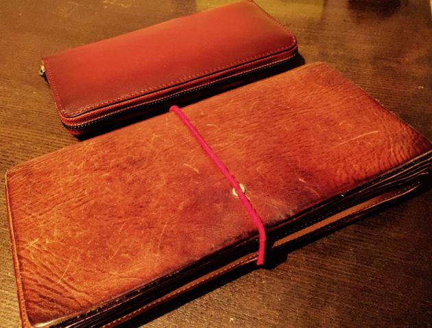 元お財布と新しいお財布