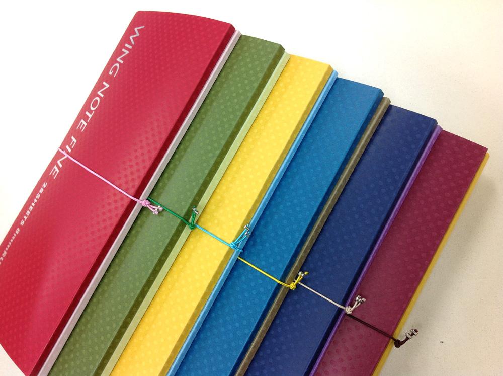 【ノッキオデザイン/ウィングノートファイン】デキる&オサレな女性向けの、デザイン性、実用性抜群のノート
