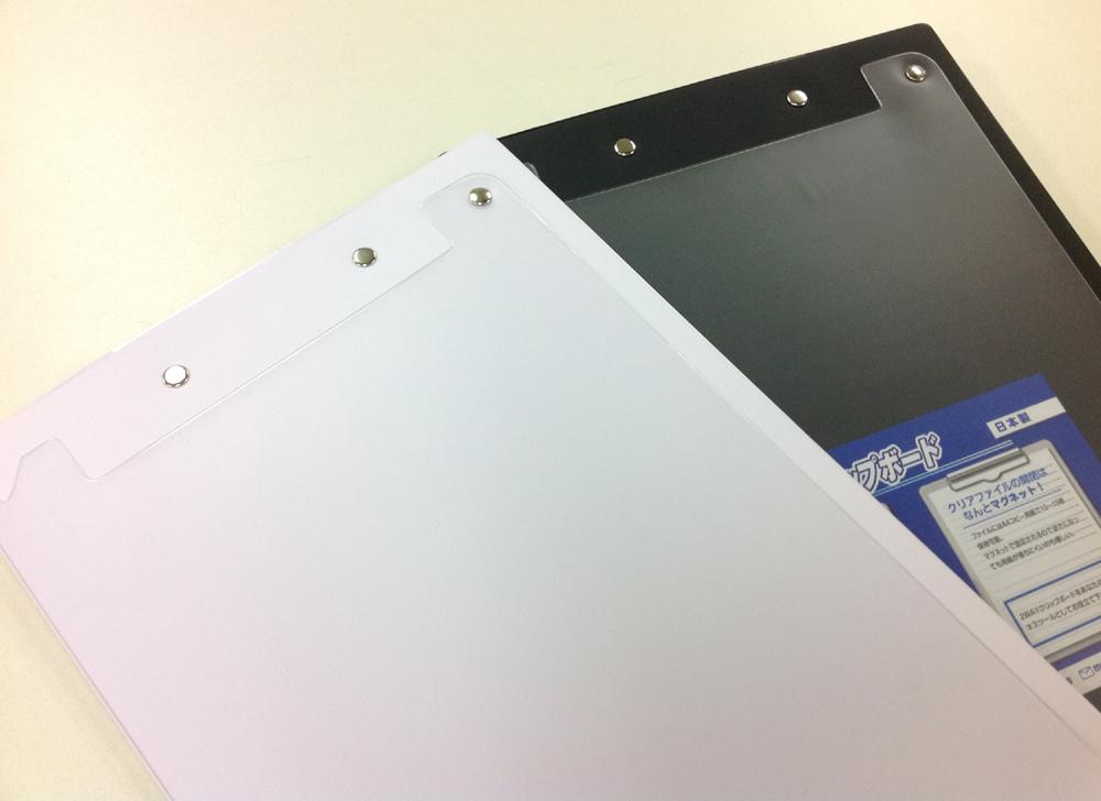 【magnetplus/2WAYクリップボード】働く現場からニーズ直球の新文具デビュー!