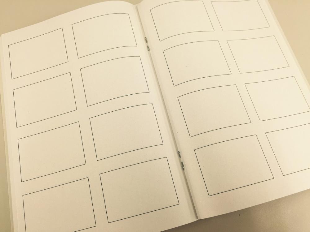 【無印良品/週刊誌4コマノート・ミニ】また再発売されててついにゲットできました。