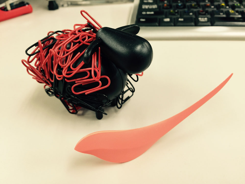 【Trendex/Animal Clippers Black Sheep】文具のモチーフに使いやすい動物、使いづらい動物。
