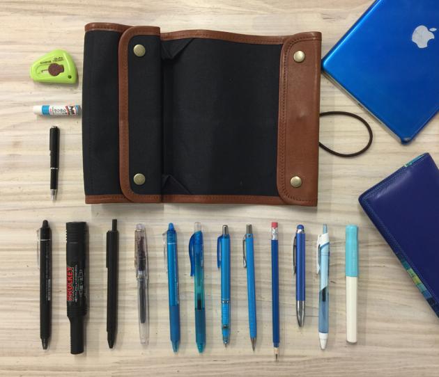 いずみ文具さんの筆箱