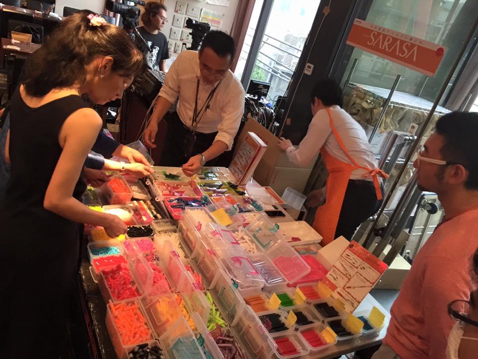 【第13回文具祭り/ゼブラ/サラサバー】世界にひとつだけのサラサが作れるって文具ファンにとってパラダイス過ぎる件