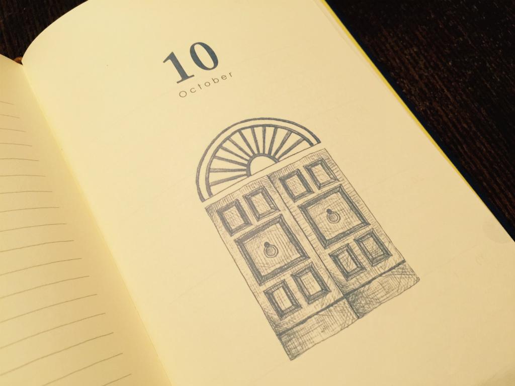 【デザインフィル/日記10年連用】さて、あれから一ヶ月。初めての日記は果たして続いているのか?