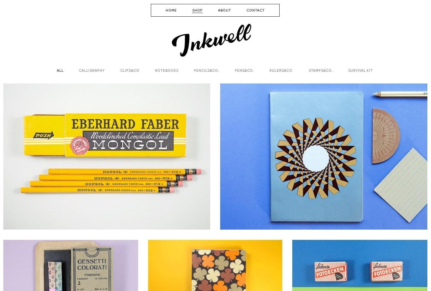 【Berlin/Inkwell】ベルリンを訪れたら行きたい文具店、インクウェルさんからメールいただきました。