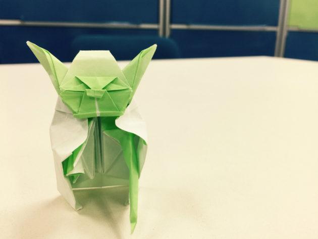 折り紙のヨーダ