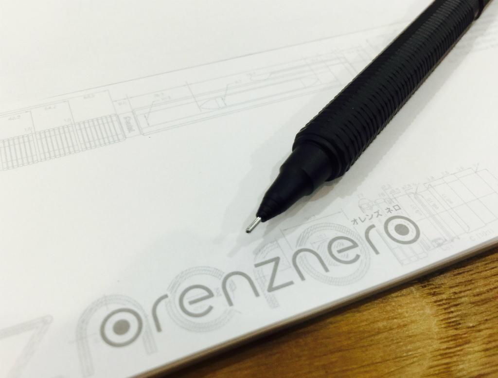【ぺんてる/orenznero(オレンズネロ)】折れない、極細、自動芯出し、マットブラック。オレンズシリーズの最高峰モデルをレポート!(後編)