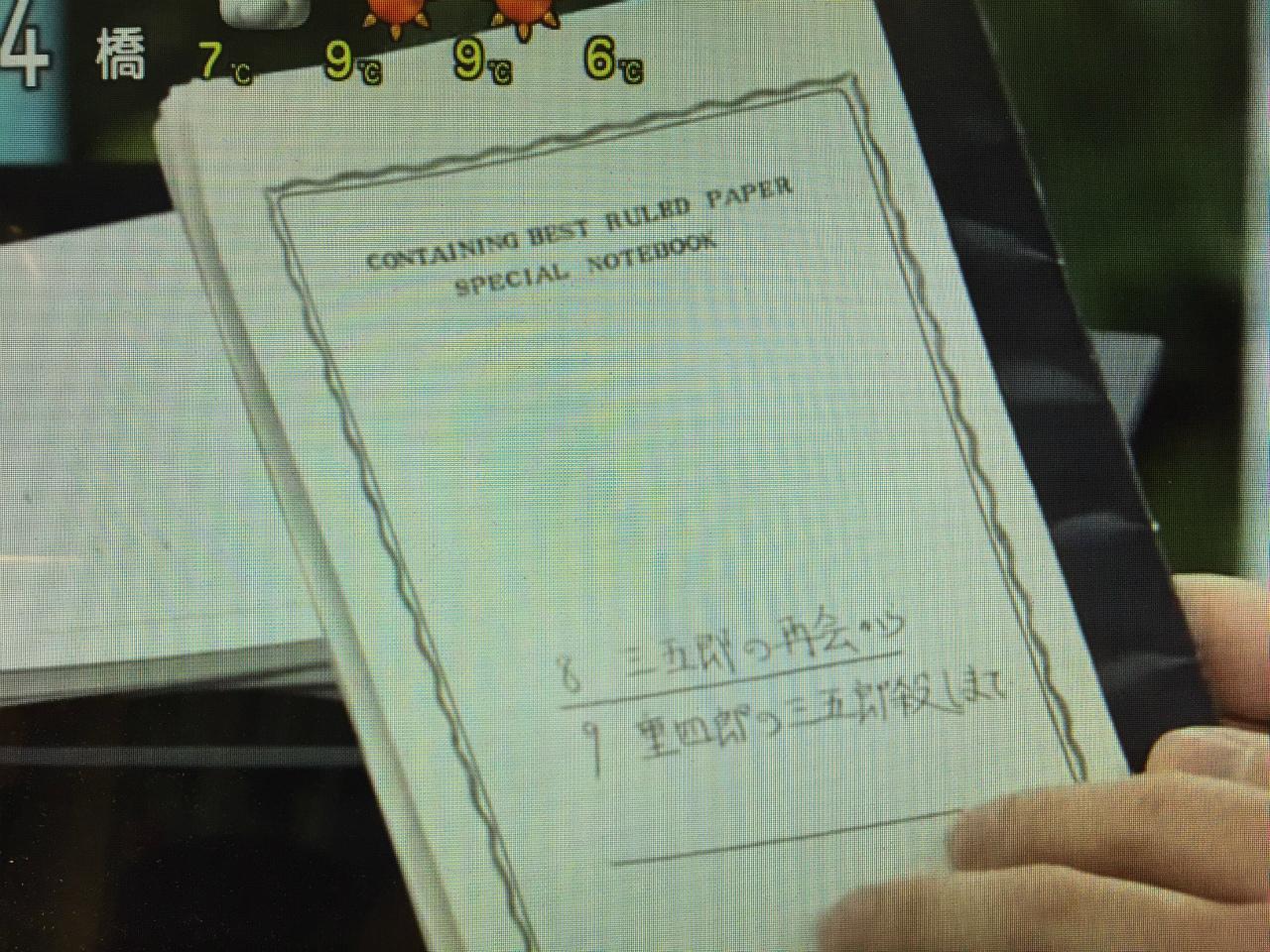 神田松之丞さんのノート