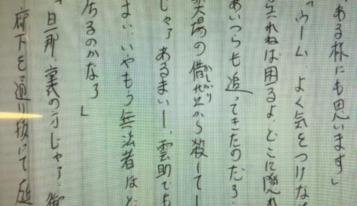 【ツバメノート/A5立罫 N2008】神田松之丞さんが使っている縦書きノート
